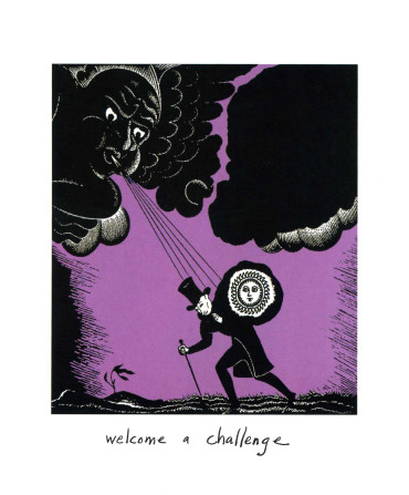 The Little Book of Courage: An Illustrated Guide to Challenging Our Fears - welcome a challenge
