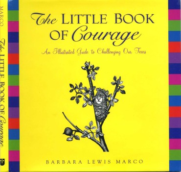 The Little Book of Courage: An Illustrated Guide to Challenging Our Fears - book cover
